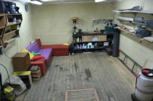 уборка гаража