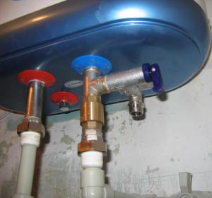 подводка под водонагреватель